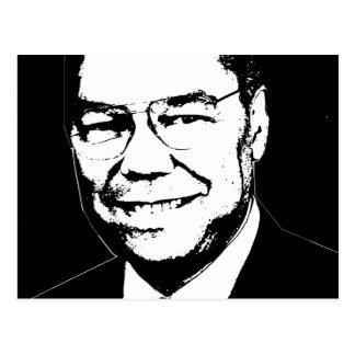 Colin Powell Postcard