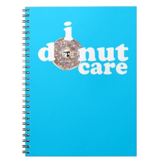 Colin's Face on Everything Donut Other Stuff Notebook