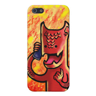 Colin the devil case for iPhone SE/5/5s
