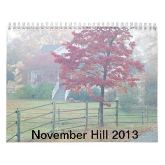 Colina 2013 de noviembre calendarios