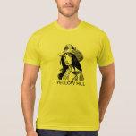Colina amarilla camisetas