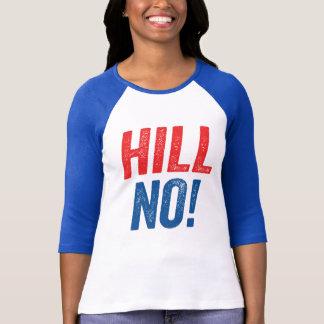 ¡Colina anti de Hillary no! Playera