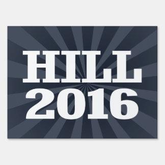 Colina - barón Hill 2016 Cartel