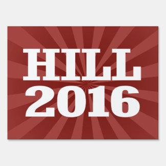 Colina - barón Hill 2016 Carteles