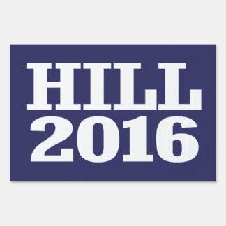 Colina - barón Hill 2016 Señal