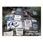 Colina de la pintada en Skagway, Alaska Tarjeta Postal