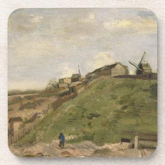 Colina de Montmartre con la mina de piedra de Van Posavasos De Bebidas