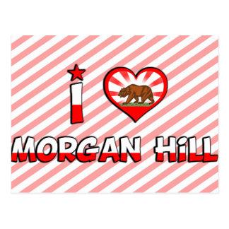 Colina de Morgan, CA Tarjetas Postales