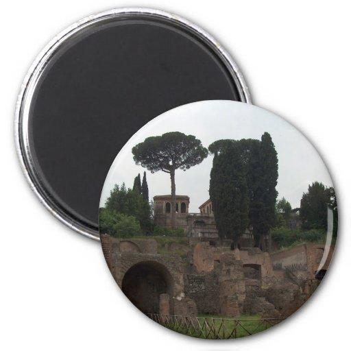Colina de Palatine en Roma, Italia Imanes