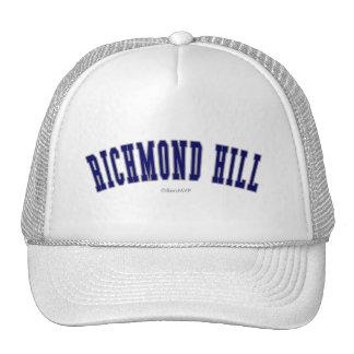 Colina de Richmond Gorra