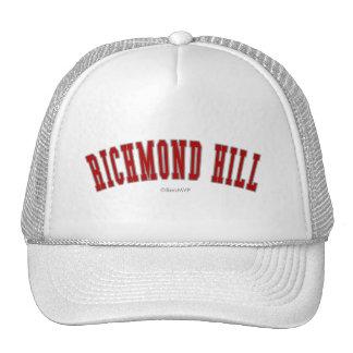 Colina de Richmond Gorras