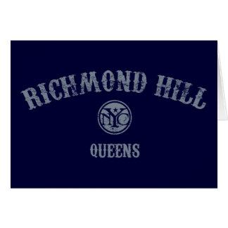 Colina de Richmond Felicitación