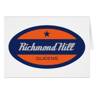 Colina de Richmond Felicitacion