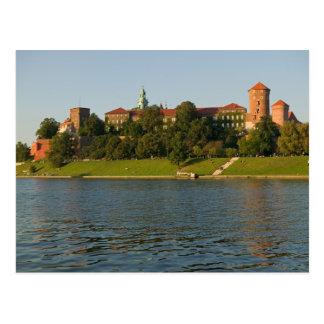 Colina de Wawel con el castillo y la catedral Tarjeta Postal