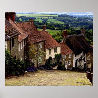 Colina del oro, Dorset Póster