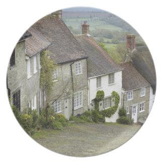 Colina del oro Shaftesbury Dorset Inglaterra u Plato De Comida