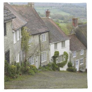 Colina del oro, Shaftesbury, Dorset, Inglaterra, u Servilleta De Papel