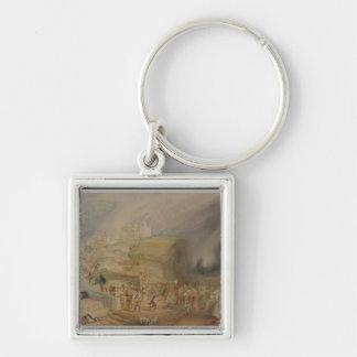 Colina del St. Catherine, Guildford, Surrey, 1830  Llavero