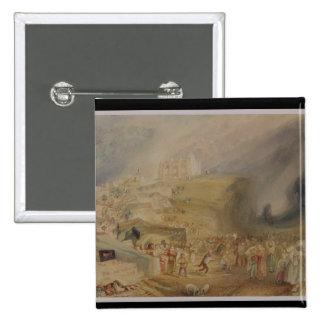 Colina del St Catherine Guildford Surrey 1830 Pin