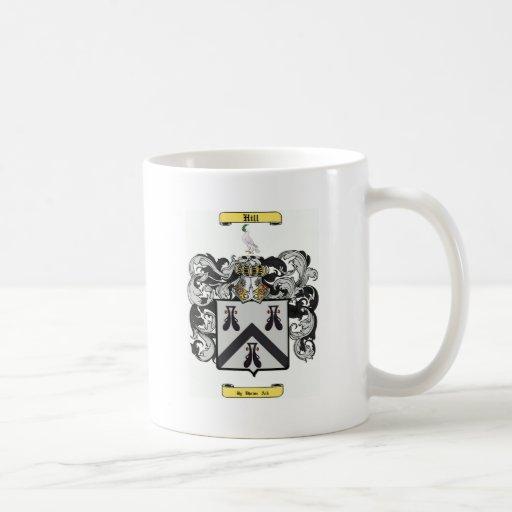 colina (inglesa) taza de café