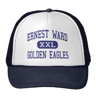 Colina media de oro de la nuez de Eagles de la sal Gorras