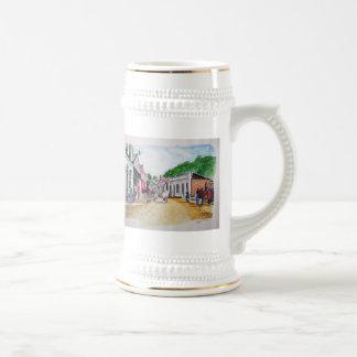 Colina soberana 2 jarra de cerveza