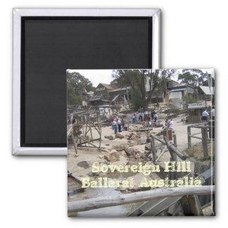 Colina soberana Ballarat Australia Iman De Frigorífico
