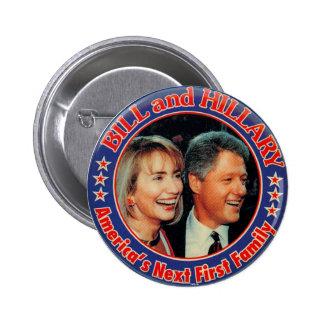 COLINA y BILL - botón Pin Redondo De 2 Pulgadas