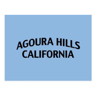 Colinas California de Agoura Postal