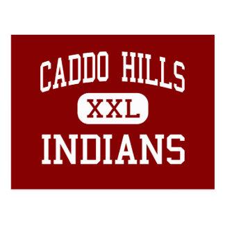 Colinas de Caddo - indios - altas - normando Tarjeta Postal