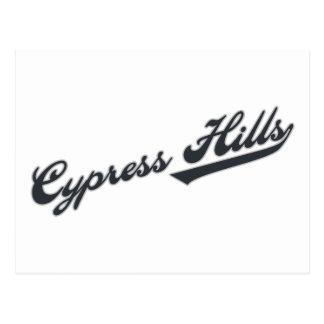 Colinas de Cypress Tarjetas Postales