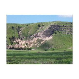 Colinas de Dakota del Sur Impresiones En Lona Estiradas