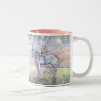 Colinas de la taza de hadas del unicornio del