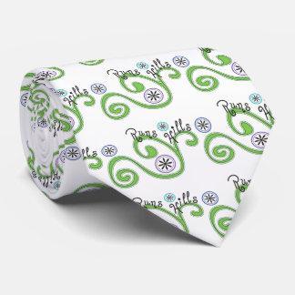 Colinas de los funcionamientos - regalo de corbatas personalizadas