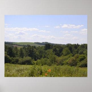 Colinas de Pennsylvania Póster