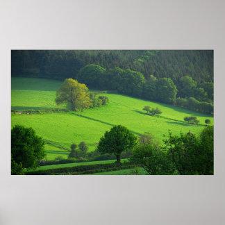 Colinas de Shropshire Póster