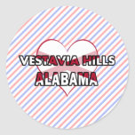 Colinas de Vestavia, Alabama Pegatina Redonda