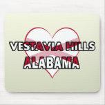 Colinas de Vestavia, Alabama Tapetes De Ratón