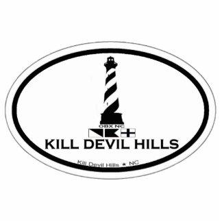 Colinas del diablo de la matanza pin fotoescultura