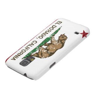 Colinas del EL Dorado de la bandera del estado de  Funda Para Galaxy S5