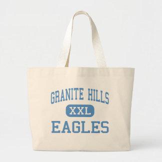 Colinas del granito - Eagles - altas - EL Cajon Bolsa Tela Grande