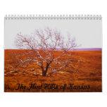 Colinas del pedernal de Kansas Calendarios De Pared