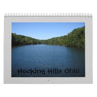 Colinas Ohio de Hocking Calendarios De Pared