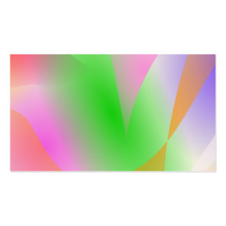 Colinas y ondas plantilla de tarjeta personal