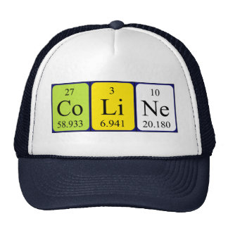 Coline periodic table name hat