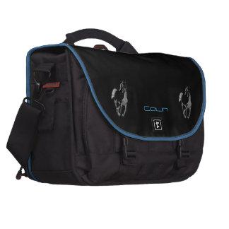 Colin's laptop bag