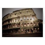Coliseo clásico felicitacion