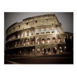 Coliseo clásico postal