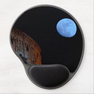 Coliseo de Roma en claro de luna Alfombrillas De Raton Con Gel