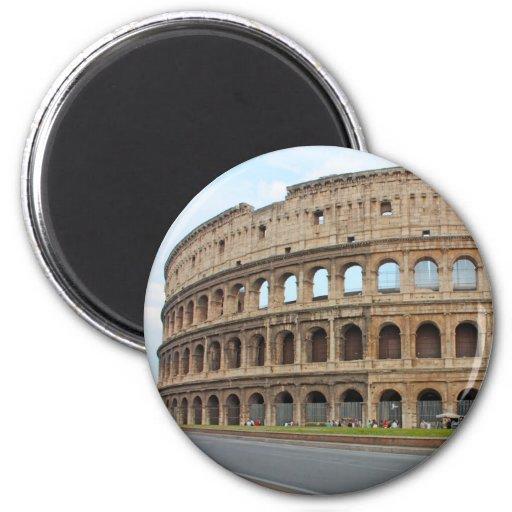 Coliseo de Roma Imán Redondo 5 Cm